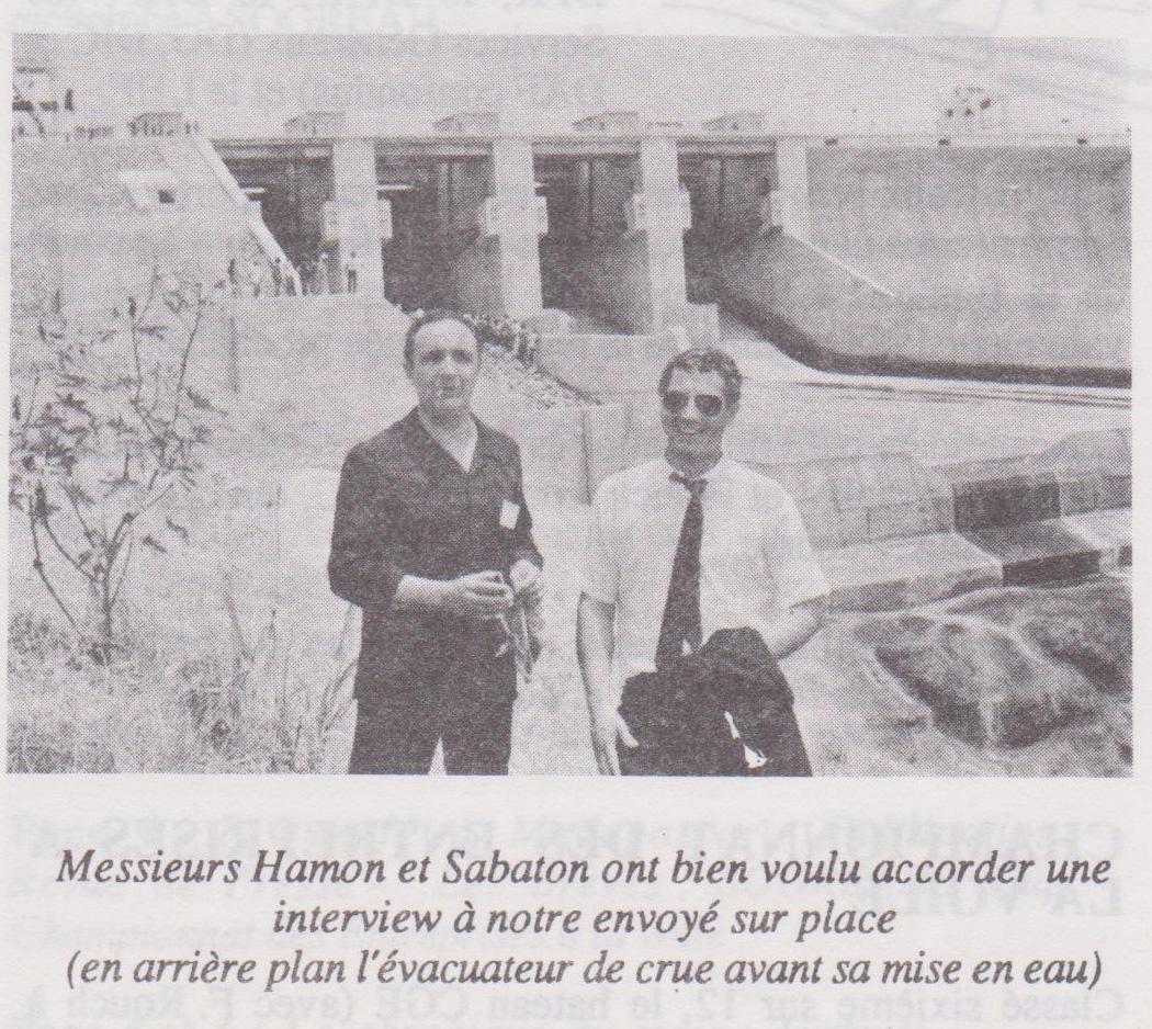 Hamon sabaton inauguration nangbeto 5 mai 1988