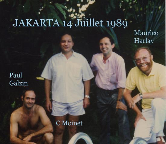 Harlay maurice jakarta 14 juillet 1990