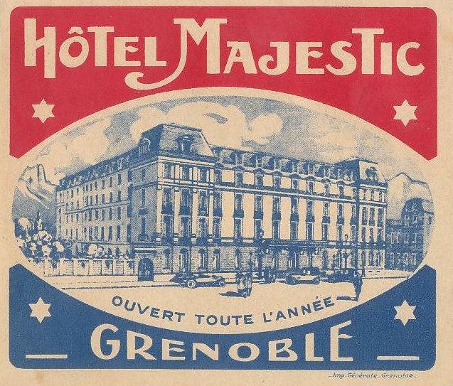 Hotel majestic grenoble logo