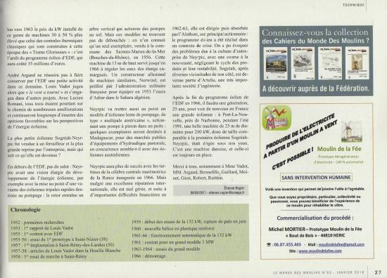Le monde des moulins n 63 janvier 2018 page 27 lvadot