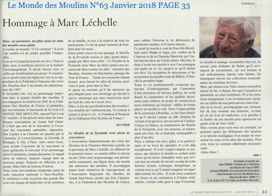 Le monde des moulins n 63 janvier 2018 page 33 lechelle
