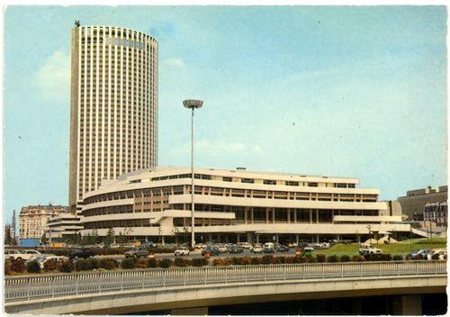 Le palais des congres et l hotel concorde lafayette 1973 b