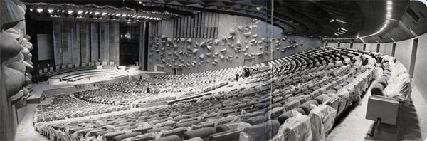 Le palais des congres et l hotel concorde lafayette 1973 salle