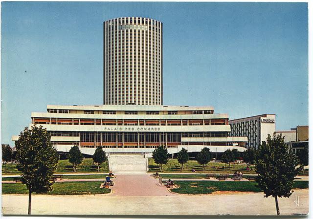 Le palais des congres et l hotel concorde lafayette 1973