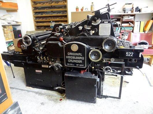 Machine heidelberg 22
