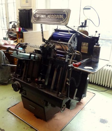 Machine heidelberg