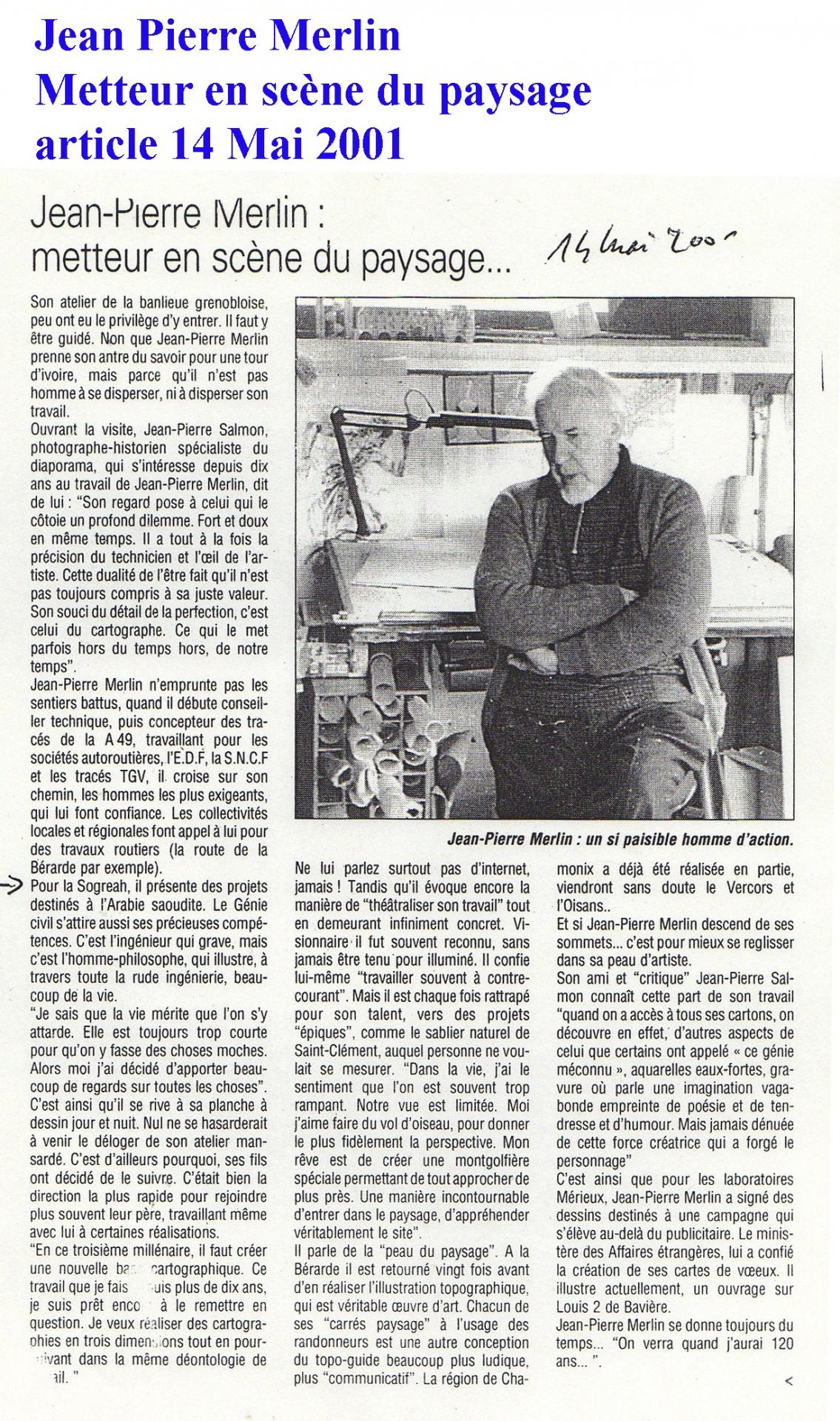 Merlin jean pierre presse 14 mai 2001 bords