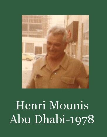 Mounis henri abu dhabi 1978