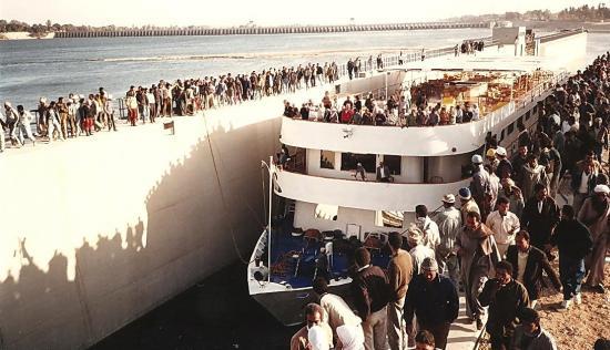 New esna barrage bateau 93 9