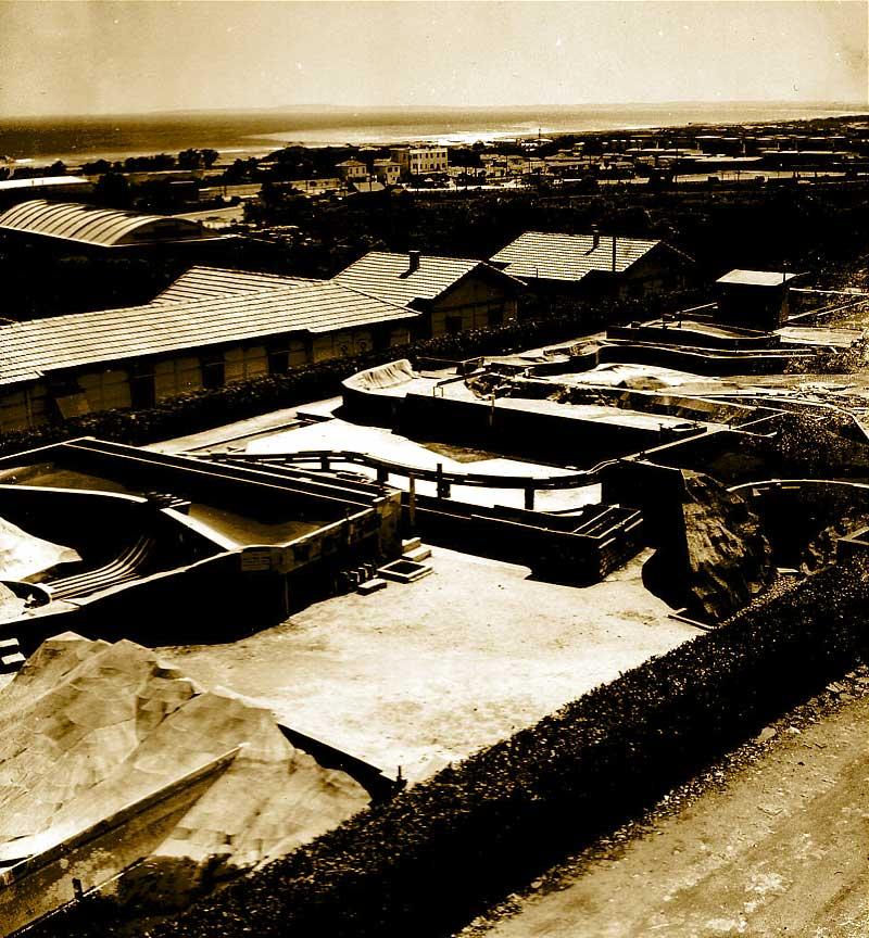 Neyrpic 10 le banc d essai consistait en un barrage