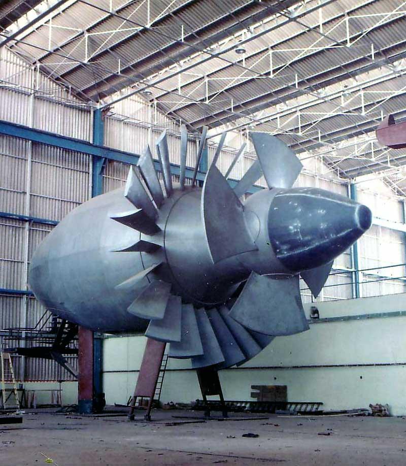 Neyrpic 18 turbine encore une turbine