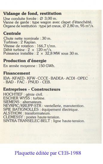 Plaquette ceb 1987 a 2