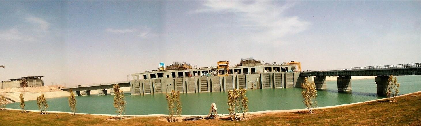 Pumping station en eau