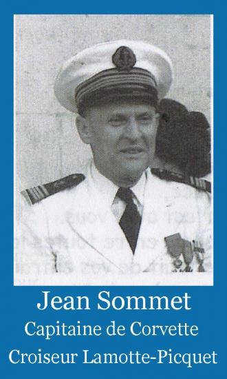 Sommet jean capitaine de corvette