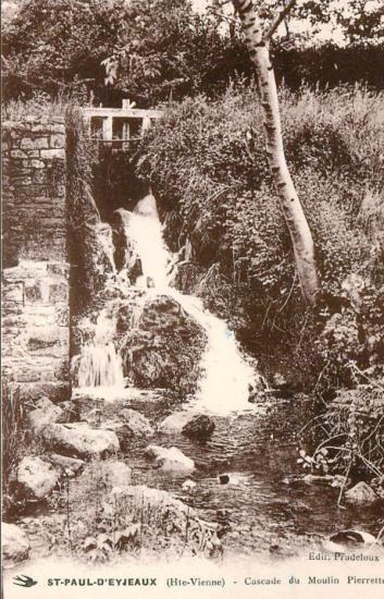 St paul d eyjeaux cascade du moulin pierrette