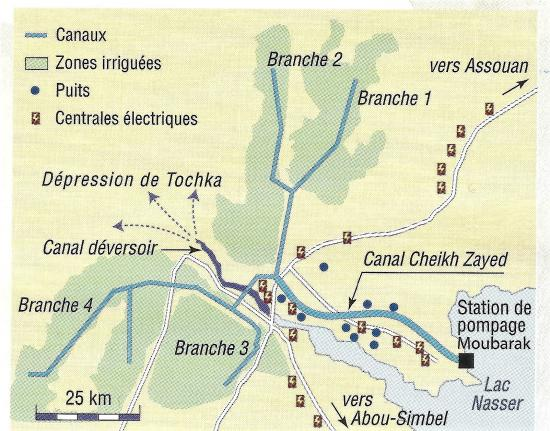 Toska canal branches