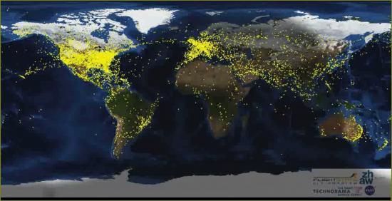 Trafic aerien voyage blog