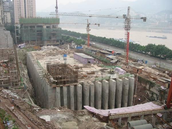 Tunnel chongqing beton